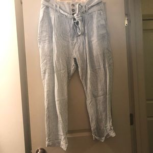 free people linen pants